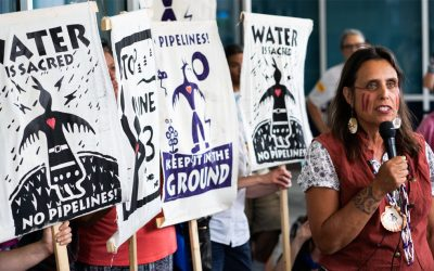 Indigenous Leader on Why She Still Needs to Protest Pipelines, Even Under Biden